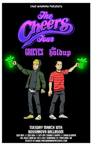 The Cheers Tour: Grieves + The Holdup at Bossanova Ballroom