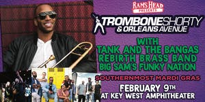 Trombone Shorty, Tank & the Bangas, Rebirth Brass, & Big Sam's Funky Nation