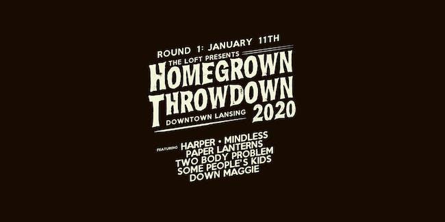 Homegrown Throwdown 2020 - ROUND #1