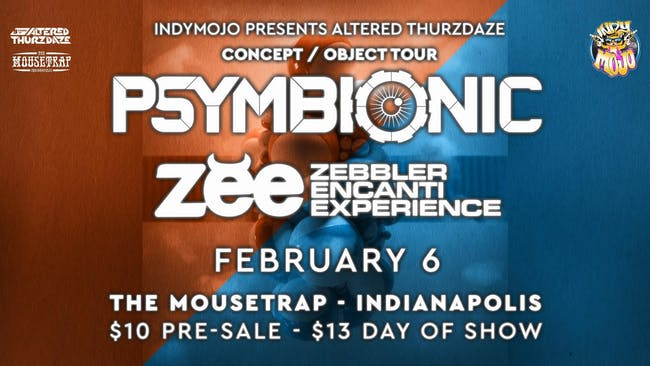 Altered Thurzdaze w/ Psymbionic & Zebbler Encanti Experience