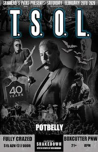 TSOL 40th Anniversary Tour