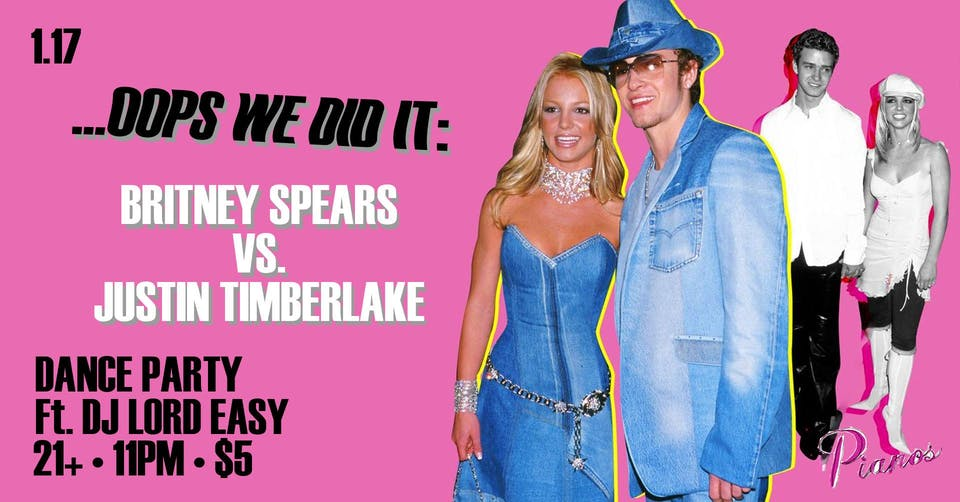 ...Oops We Did It: A Britney Spears Vs. Justin Timberlake Dance Party