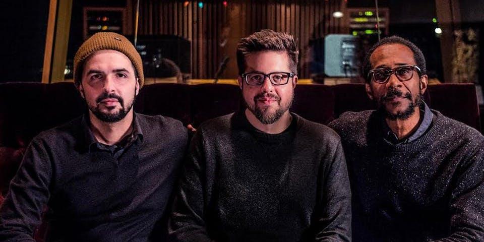 "Jeff Denson, Romain Pilon & Brian Blade ""Between Two Worlds"" CD Release"