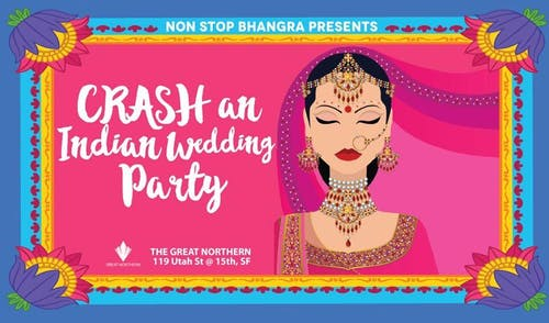 Non Stop Bhangra-Crash An Indian Wedding Party