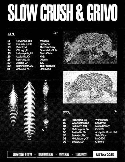 Slow Crush / Grivo / Crown of Pity / Douse