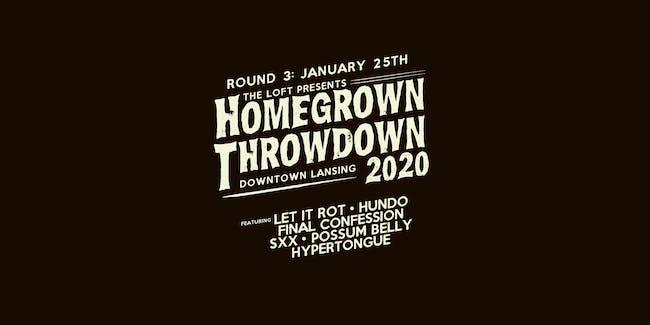 Homegrown Throwdown 2020 - ROUND #3