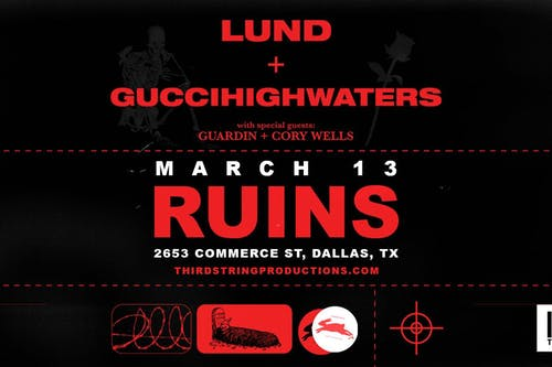 Lund & guiccihighwaters at Ruins