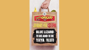 Blue Lizard, The Cause and The Cure, Palluffo, Yaya at Arlene's Grocery