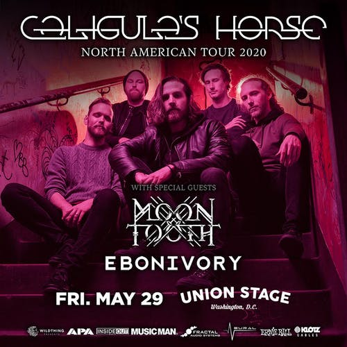 Caligula's Horse - North American Tour 2020 + Moon Tooth + Ebonivory