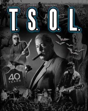 T.S.O.L. - 40th Anniversary Tour, The Detours, Social Spit