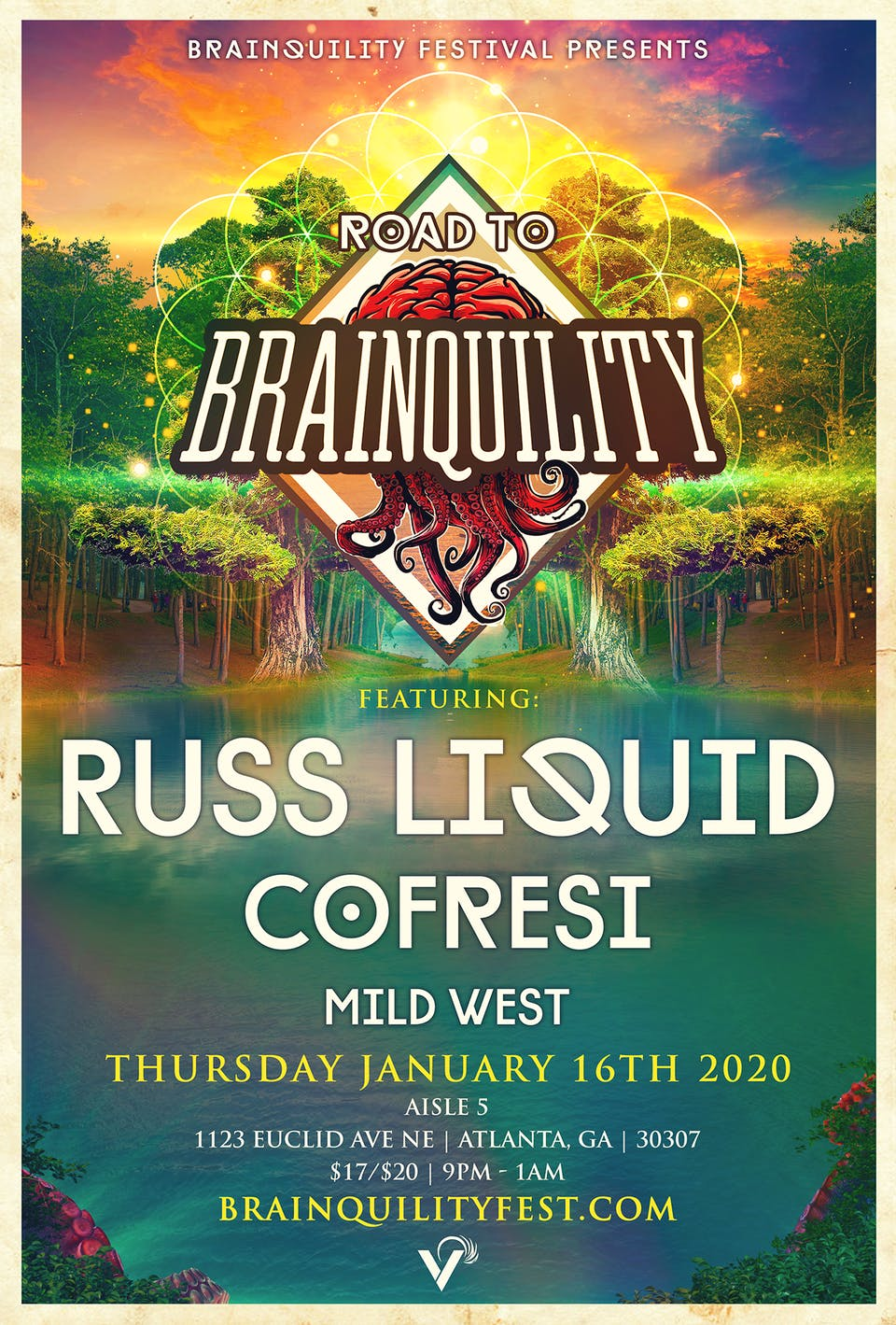 Road to Brainquility - Russ Liquid w/ Cofresi and Mild West