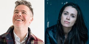 Josh Ritter w. very special guest Caitlin Canty at Academy of Music