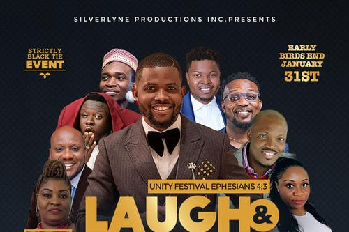 Laugh and Praise:  African Gospel Awards-new date, May 9