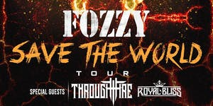 Fozzy w/ Through Fire and Royal Bliss