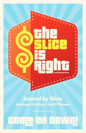 The Slice is Right, The Harold Team 1501derful