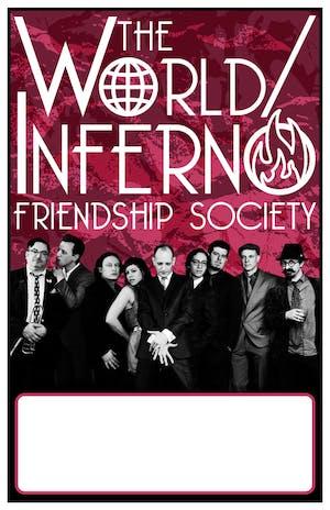 World Inferno Friendship Society+Bridge City Sinners+Blind Mountain Holler
