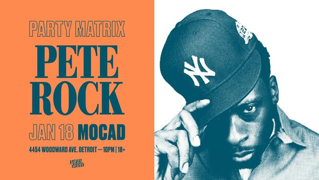 Party Matrix with Pete Rock
