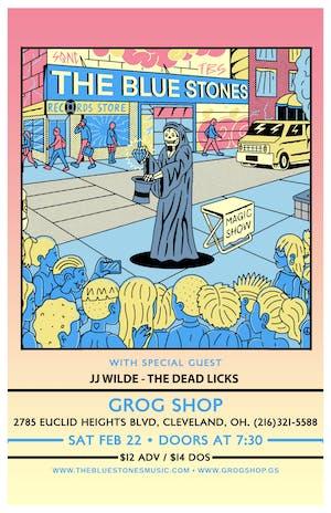 The Blue Stones / JJ Wilde / The Dead Licks