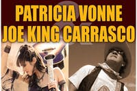 Joe King Carrasco and Patricia Vonne