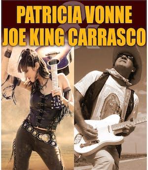 Joe King Carrasco and Patricia Vonne