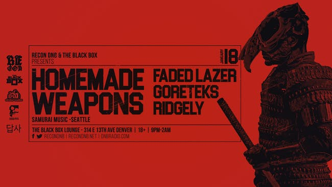 Recon DnB presents Homemade Weapons