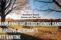 Amanda and the teddythomas band | The Groove Merchants | Matt Vantine