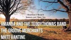 Amanda and the teddythomas band   The Groove Merchants   Matt Vantine
