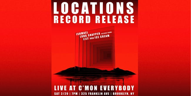 Locations *record release show*