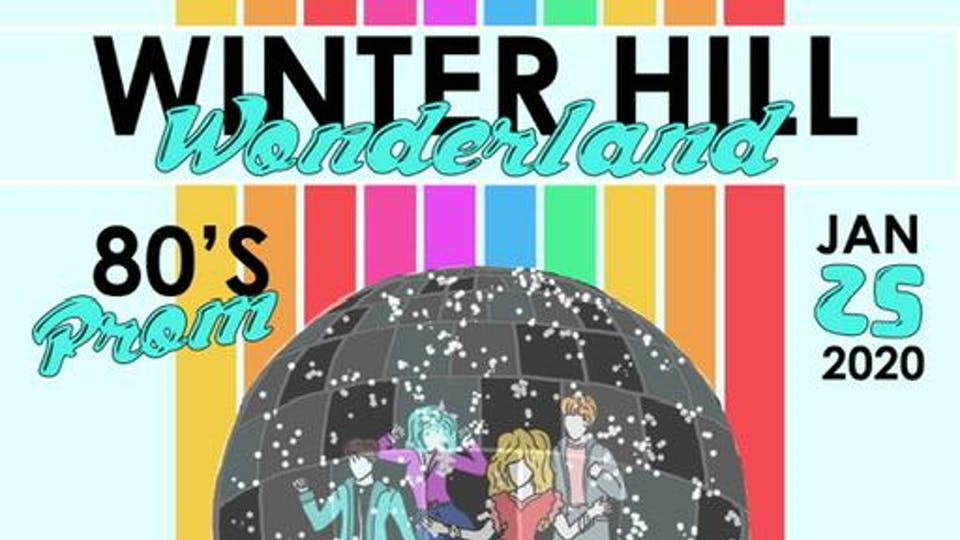 Winter Hill Wonderland 80's Prom
