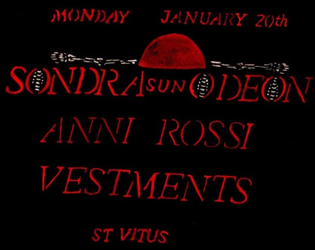 Sondra Sun-Odeon, Anni Rossi, Vestments