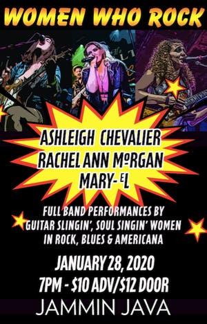 Women Who Rock - Ashleigh Chevalier + Rachel Ann Morgan + Mary-eL