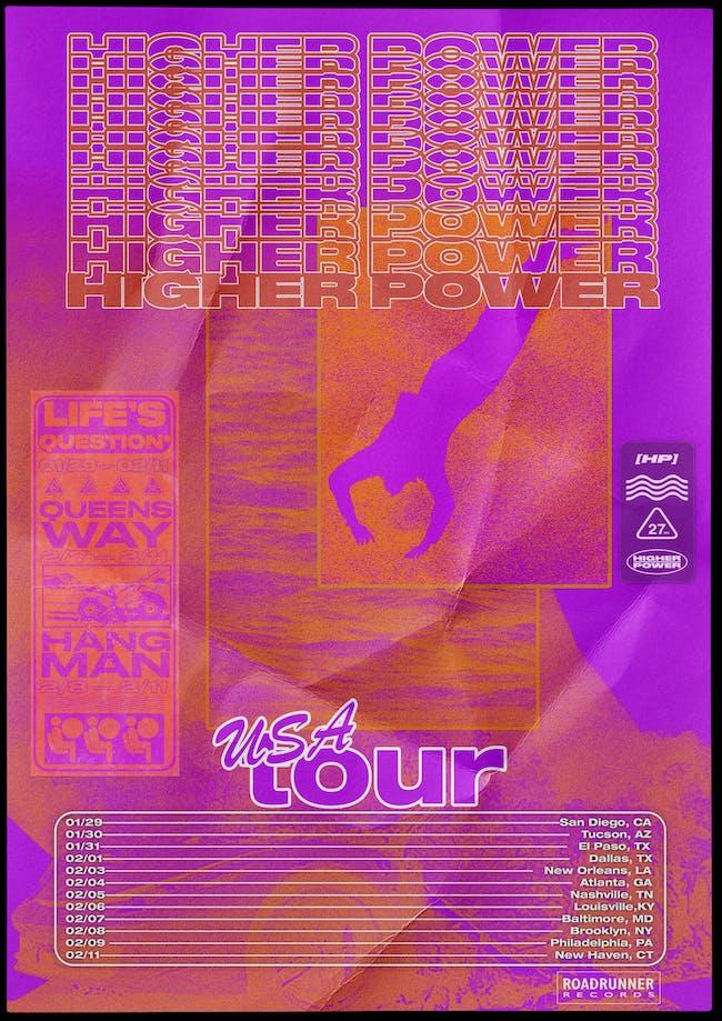 Higher Power, Queensway, Life's Question, Hangman