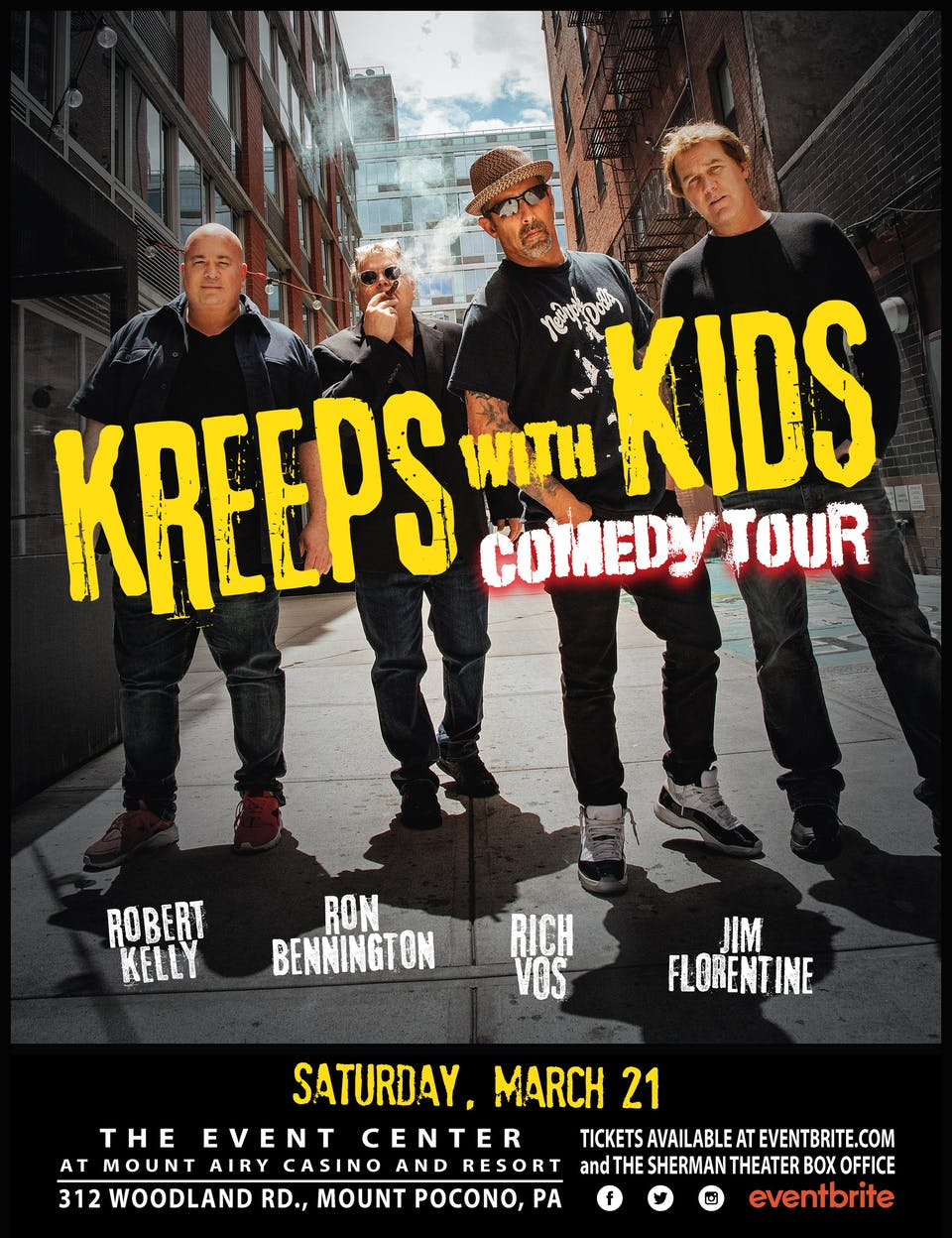 Kreeps With Kids - Comedy Tour