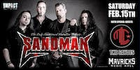 SANDMAN, The Only Metallica Sanctioned Tribute Worldwide, MLC & THE SAYDES
