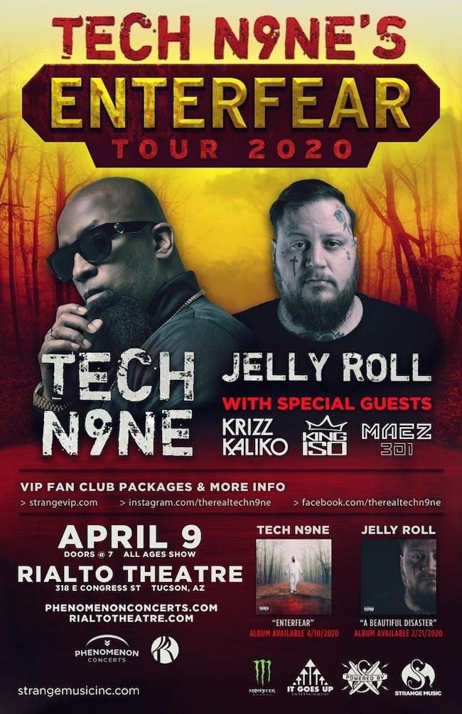 Tech N9ne Enterfear Tour 2020