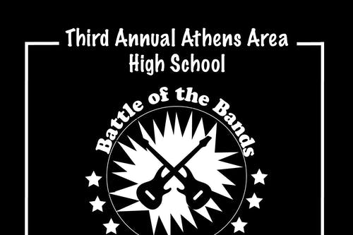 Third Annual Athens Area High School Battle of The Bands