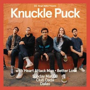 Knuckle Puck • Heart Attack Man • Better Love