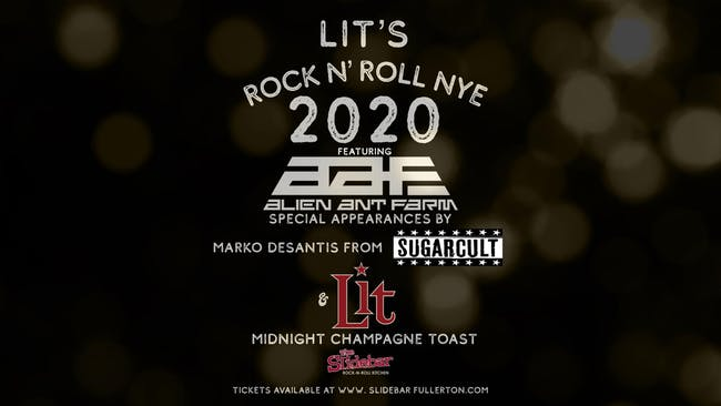 Lit's Rock N' Roll New Years Eve