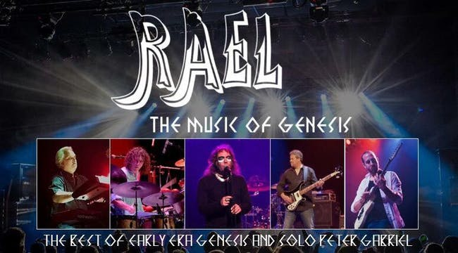 CANCELED - RAEL: The Music of Genesis & Peter Gabriel