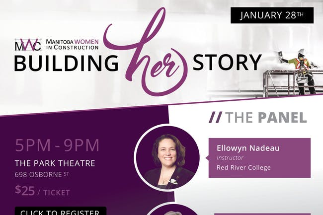 4TH ANNUAL BUILDING HER STORY