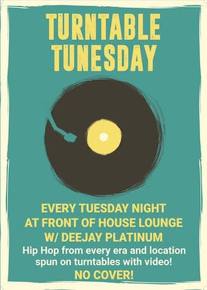 Turntable Tunesday - Real Deal Hip Hop All Night