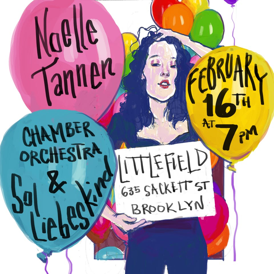 Noelle Tannen with Sol Liebeskind and more