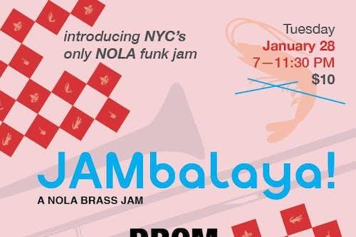 JAMbalaya! Brass Monkeys, Brass Queens, and Flowmingos