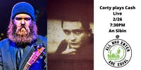 Corty Byron plays Johnny Cash