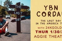 YBN Cordae w/ Special Guests AT THE AGGIE THEATRE