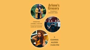 Gianna Alessi, Lucid Lip, Christine Chanel at Arlene's Grocery