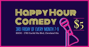 Happy Hour Comedy Hosted By Greg Summers