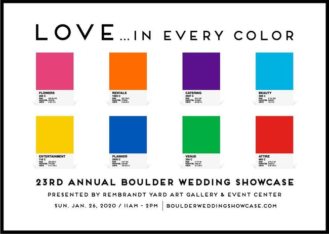 23RD ANNUAL BOULDER WEDDING SHOWCASE