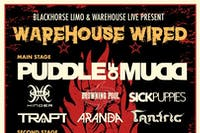 WAREHOUSE WIRED w/ PUDDLE OF MUDD / DROWNING POOL / SICK PUPPIES / TRAPT