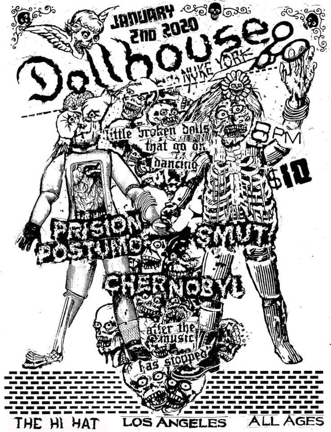 Dollhouse (NYC), Prison Postumo, Smut